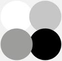 Psychologie barev, černá, bílá, šedá