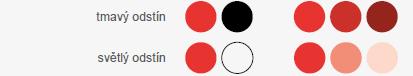 Barvy a jejich kombinace, jas